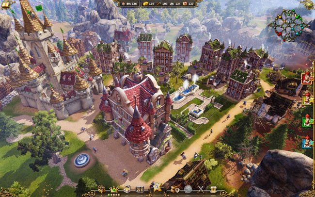 The Settlers 7: Paths to a Kingdom PC screenshots