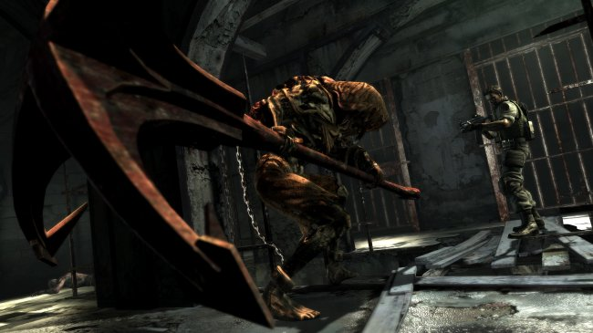 Resident Evil 5: LOST IN NIGHTMARES Xbox 360 screenshots