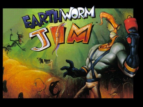 Earthworm Jim Sega Genesis / Super Nintendo Entertainment System