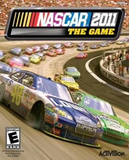 Nascar 2011: The Game 360/PS3 Boxart