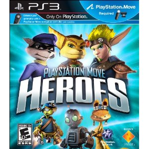 PlayStation Move Heroes Boxart