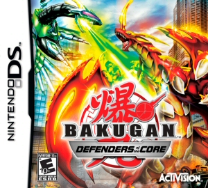 Bakugan Battle Brawlers: Defenders of the Core - NDS Boxart