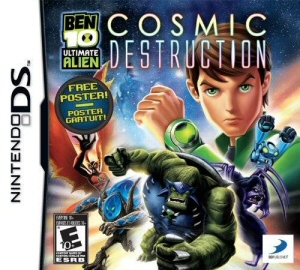 Ben 10 Ultimate Alien: Cosmic Destruction - NDS Boxart