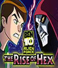 Ben 10 Alien Force: The Rise of Hex Boxart