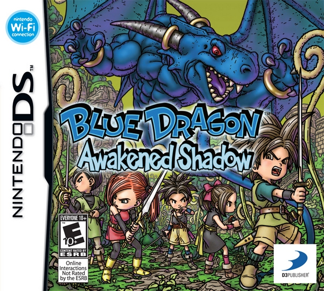 Blue Dragon: Awakened Shadow - NDS Boxart