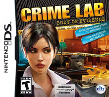Crime Lab: Body of Evidence - NDS Boxart