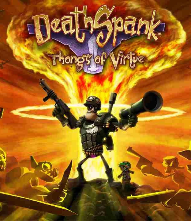 Deathspank: Thongs of Virtue Boxart