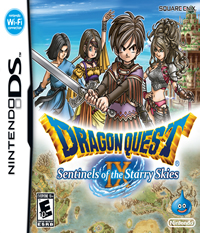 Dragon Quest IX: Sentinels of the Starry Skies - NDS Boxart