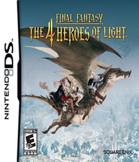 Final Fantasy: The 4 Heroes of Light - NDS Boxart