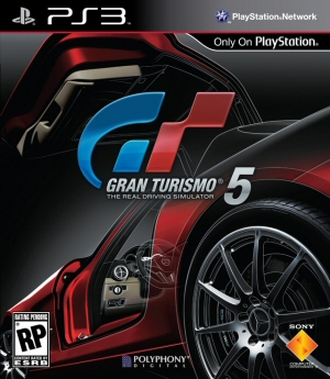Gran Turismo 5 Boxart