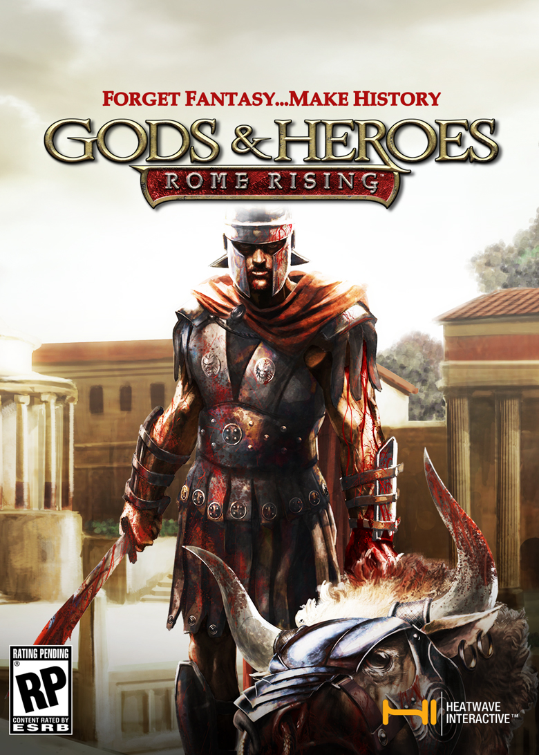 Gods and Heroes: Rome Rising Boxart