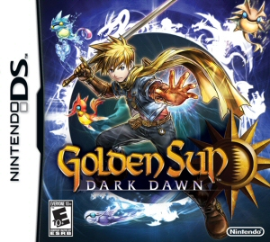 Golden Sun: Dark Dawn - NDS Boxart
