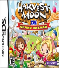 Harvest Moon: Grand Bazaar - NDS Boxart
