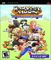 Harvest Moon: Hero of Leaf Valley Boxart