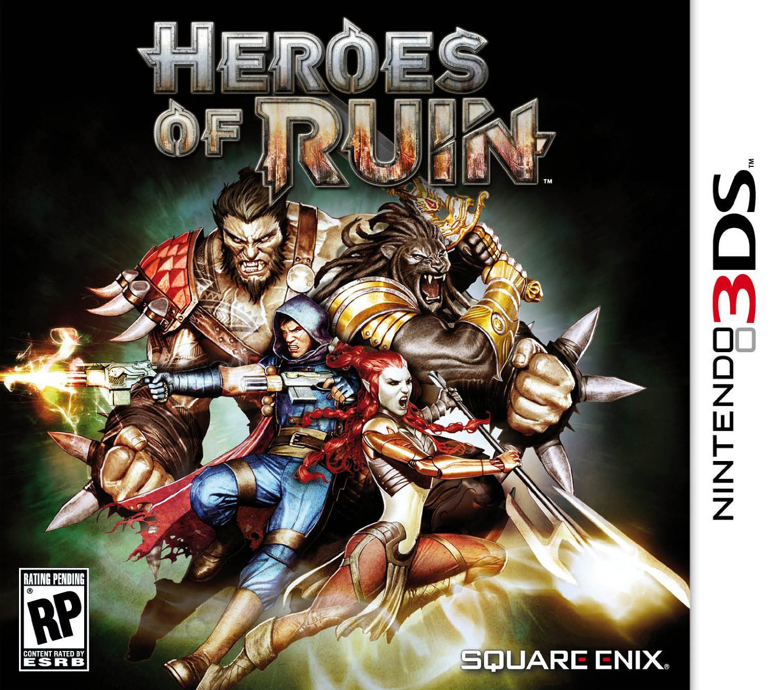 Heroes of Ruin Boxart