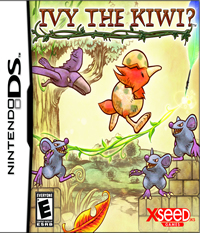 Ivy the Kiwi - NDS Boxart
