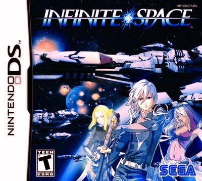 Infinite Space - NDS Boxart