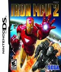 Iron Man 2: The Video Game - NDS Boxart