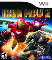 Iron Man 2: The Video Game Boxart