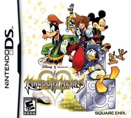 Kingdom Hearts Re:Coded - NDS Boxart