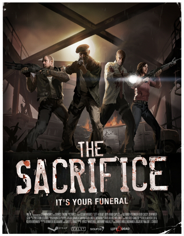 Left 4 Dead: The Sacrifice Boxart