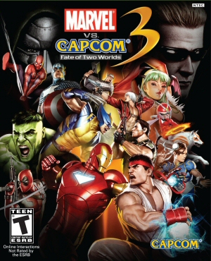 Marvel vs Capcom 3: Fate of Two Worlds Boxart