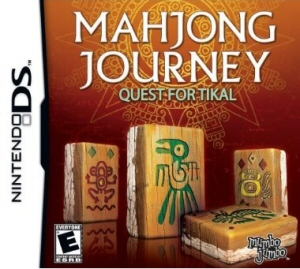 Mahjong Journey: Quest for Tikal - NDS Boxart