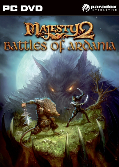 Majesty 2: Battles of Ardania Boxart