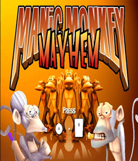 Manic Monkey Mayhem Boxart