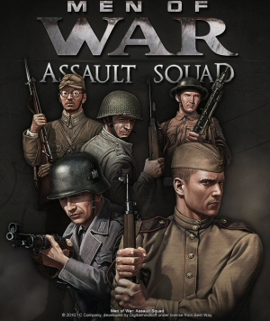 Men of War: Assault Squad Boxart