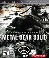 Metal Gear Solid: Peace Walker Boxart