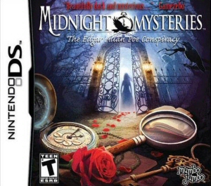 Midnight Mysteries: The Edgar Allan Poe Conspiracy - NDS Boxart
