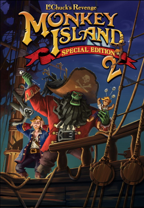 Monkey Island 2 Special Edition: LeChuck's Revenge Boxart