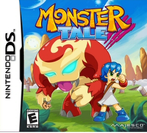 Monster Tale - NDS Boxart
