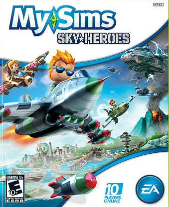 MySims SkyHeroes Boxart