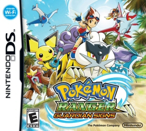 Pokemon Ranger: Guardian Signs - NDS Boxart