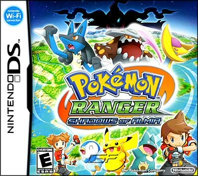 Pokemon Ranger: Shadows of Almia - NDS Boxart