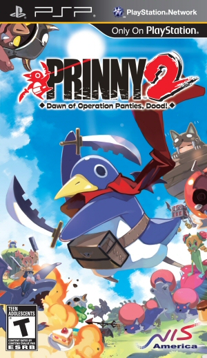 Prinny 2: Dawn of Operation Panties, Dood! Boxart