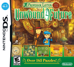 Professor Layton and the Unwound Future - NDS Boxart