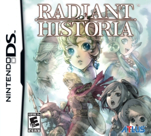 Radiant Historia - NDS Boxart
