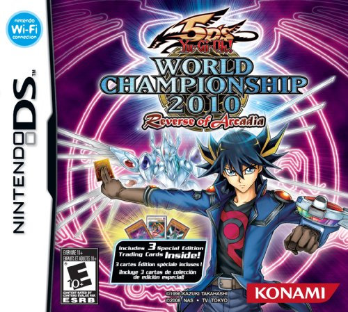 Yu-Gi-Oh! 5D's World Championship 2010: Reverse of Arcadia - NDS Boxart