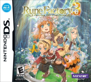 Rune Factory 3: A Fantasy Harvest Moon - NDS Boxart