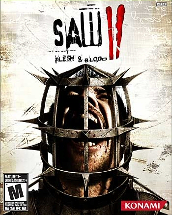 Saw II: Flesh & Blood Boxart