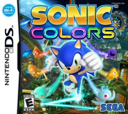 Sonic Colors - NDS Boxart