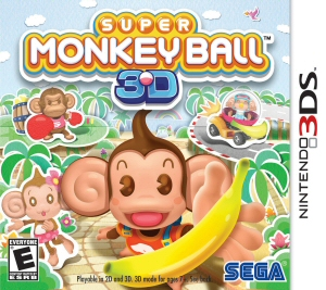 Super Monkey Ball 3D Boxart