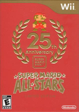 Super Mario All-Stars: 25th Anniversary Boxart