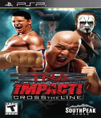 TNA iMPACT!: Cross the Line Boxart