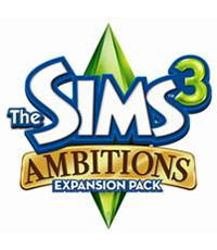 The Sims 3 Ambitions - MB Boxart
