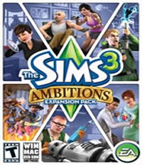 The Sims 3 Ambitions Boxart