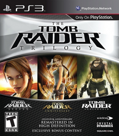 The Tomb Raider Trilogy Boxart